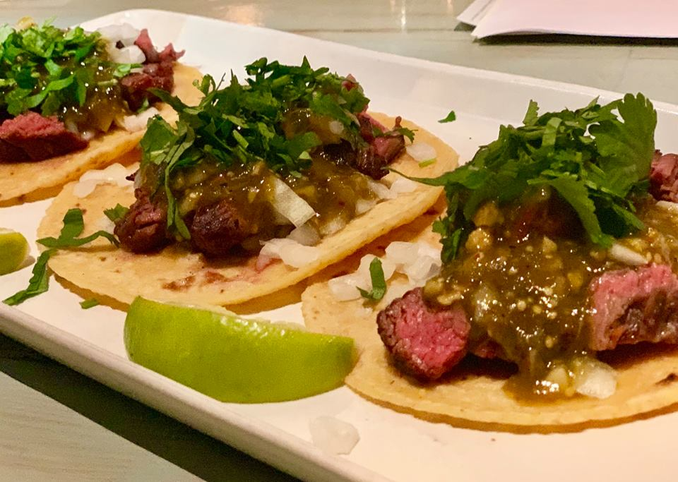 New carne tacos